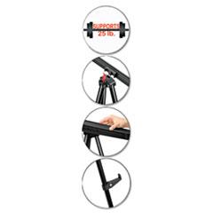 BVCFLX09101MV - MasterVision® Telescoping Tripod Display Easel