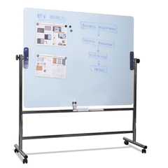 BVCGQR0350 - MasterVision® Glass Revolving Easel