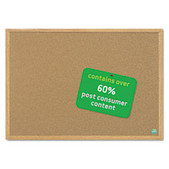 BVCSB0420001233 - MasterVision® Earth-it® Cork Board