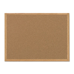 BVCSF152001239 - MasterVision® Value Cork Board with Oak Frame