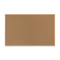 BVCSF352001239 - MasterVision® Value Cork Board with Oak Frame