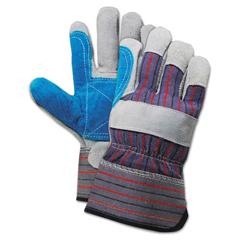 BWK00034 - Boardwalk® Cow Split Leather Double Palm Gloves