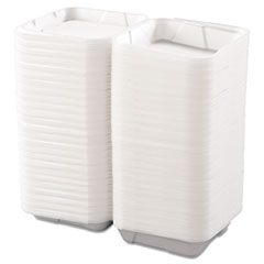 BWK0100 - Snap-it Foam Hinged Lid Carryout Containers