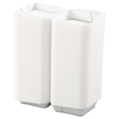 BWK0107 - Snap-it Foam Hinged Lid Carryout Containers