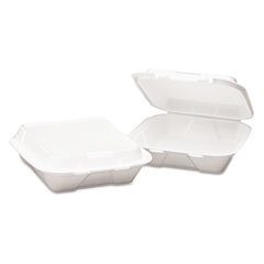 BWK0108 - Snap-it Foam Hinged Lid Carryout Containers
