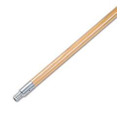 BWK136 - Boardwalk Metal Tip Threaded Hardwood Broom Handle