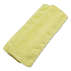 BWK16YELCLOTH - Boardwalk® Lightweight Microfiber Cleaning Cloths