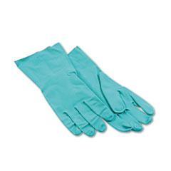 BWK183L - Flock-Lined Nitrile Gloves - Large