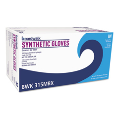 BWK315M - Boardwalk® Powder-Free Synthetic Vinyl Gloves