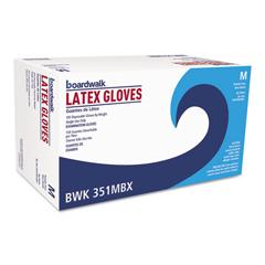 BWK351MBX - Boardwalk® Powder-Free Latex Exam Gloves