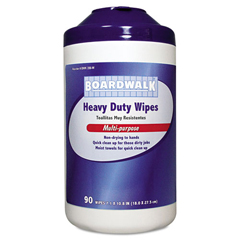 BWK356W - Boardwalk® Heavy-Duty Wipes