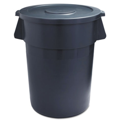 BWK44GLWRLIDGRA - Round Lids for Waste Receptacles