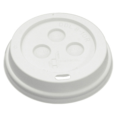 BWK8DOMELID - Hot Cup Dome Lids