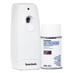 BWK907 - Air Freshener Dispenser Starter Kit, White, Cinnamon Sunset, 5.3 oz