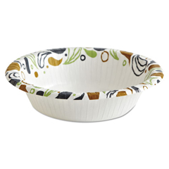 BWKDEER12BOWL - Boardwalk® Deerfield Printed Paper Dinnerware