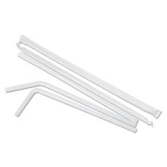 BWKFSTW775W25PK - Boardwalk Flexible Wrapped Straws