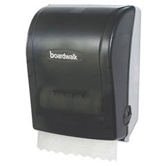 BWKHF108SBBW - Boardwalk® Hands Free Towel Dispenser