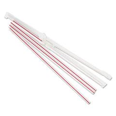 BWKJSTW775S24PK - Boardwalk Jumbo Straws