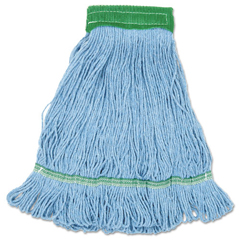 BWKLM30310M - Blue Cotton Mop Heads