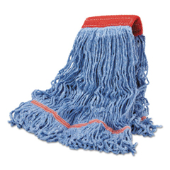 BWKLM30311L - Blue Cotton Mop Heads