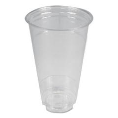BWKPET24 - Boardwalk® Clear Plastic Cold Cups