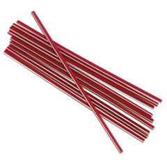 BWKSTRU525S10PK - Boardwalk Unwrapped Stir-Straws