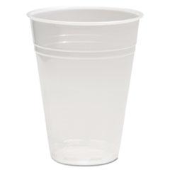 BWKTRANSCUP10CT - Boardwalk® Translucent Plastic Hot/Cold Cups
