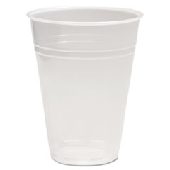 BWKTRANSCUP10PK - Boardwalk® Translucent Plastic Hot/Cold Cups