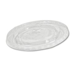 BWKYLP-20C - Crystal-Clear Cold Cup Straw-Slot Lids