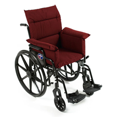 CAA207-0-BUR - Care ApparelTotal Chair Cushion