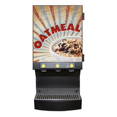 WCSCAFEOAT3 - Wilbur CurtisCafe Oatmeal 3 Station Dispensing System