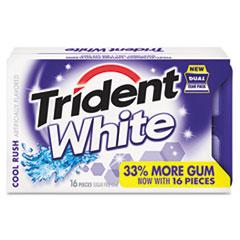 CDB6763800 - CADBURY ADAMS™ Trident White® Cool Rush Gum