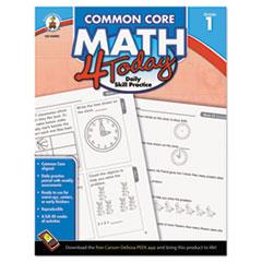 CDP104590 - Carson-Dellosa Publishing Common Core 4 Today Workbook
