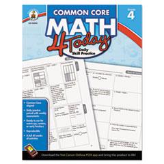 CDP104593 - Carson-Dellosa Publishing Common Core 4 Today Workbook