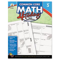 CDP104594 - Carson-Dellosa Publishing Common Core 4 Today Workbook