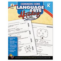 CDP104595 - Carson-Dellosa Publishing Common Core 4 Today Workbook