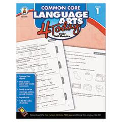 CDP104596 - Carson-Dellosa Publishing Common Core 4 Today Workbook