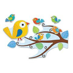 CDP110202 - Carson-Dellosa Boho Birds Bulletin Board Set