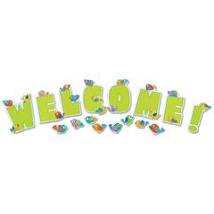 CDP110232 - Carson-Dellosa Boho Birds Welcome Bulletin Board Set