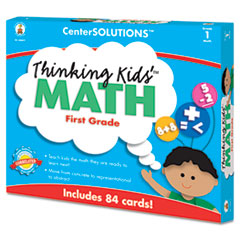 CDP140077 - Carson-Dellosa Publishing CenterSOLUTIONS® Thinking Kids™ Math Cards