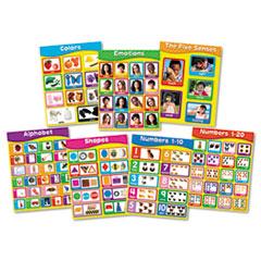 CDP144131 - Carson-Dellosa Publishing Chartlet Set