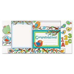 CDP144625 - Carson-Dellosa Publishing BoHo Birds Alphabet Bulletin Board Set