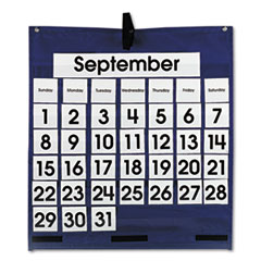 CDP158156 - Carson-Dellosa Monthly Calendar 43-Pocket Chart with Day/Week Cards