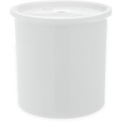 CFS030202CS - CarlisleClassic Crock w/Lid 2.7 qt - White