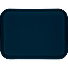 "CFS1410FG050CS - CarlisleGlasteel Solid Rectangular Tray 13.75"" x 10.6"" - Sapphire Blue"