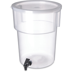 CFS220930CS - CarlisleRound Dispenser 5 gal - See Thru
