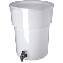 CFS221002CS - CarlisleRound Dispenser 5 gal - White