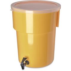 CFS221004CS - CarlisleRound Dispenser 5 gal - Yellow