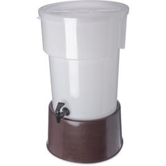 CFS223001CS - CarlisleRound Dispenser w/Base 5 gal - Brown