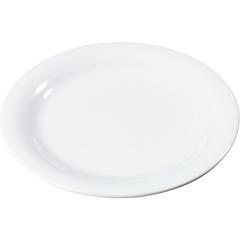 "CFS3300402CS - Carlisle - Sierrus Melamine Narrow Rim Dinner Plate 9"" - White"